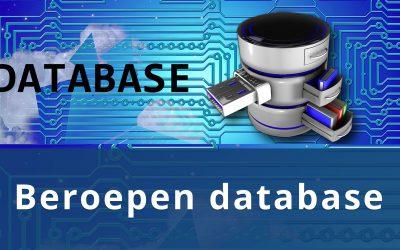 Jobport geschikte beroepen database volgens overheid